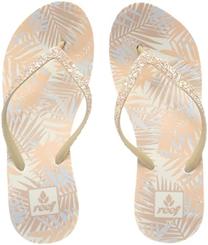 6ff6954dfdf0 Reef Women s Krystal Star Prints Flip Flops  Amazon.co.uk  Shoes   Bags