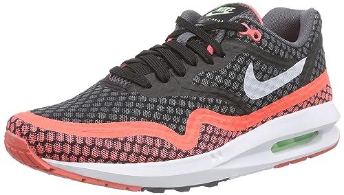 huge discount 61b6a c5ae0 Nike Air MAX Lunar1 BR - Zapatillas para Hombre, Color Negro (Black Pure  Platinum-Hot Lava), Talla 45  Amazon.es  Zapatos y complementos