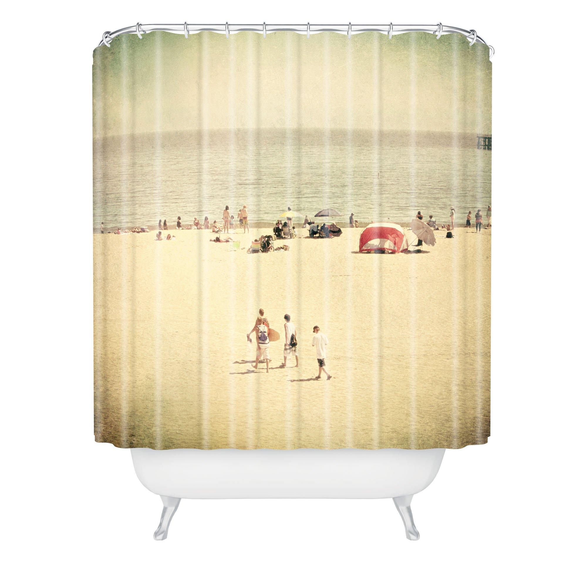 Deny Designs Shannon Clark Boys Of Summer Shower Curtain, 69'' x 90''