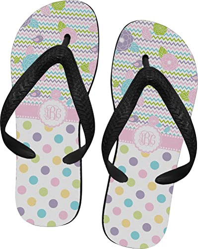 5adc1627931e0b RNK Shops Girly Girl Flip Flops - XSmall (Personalized)