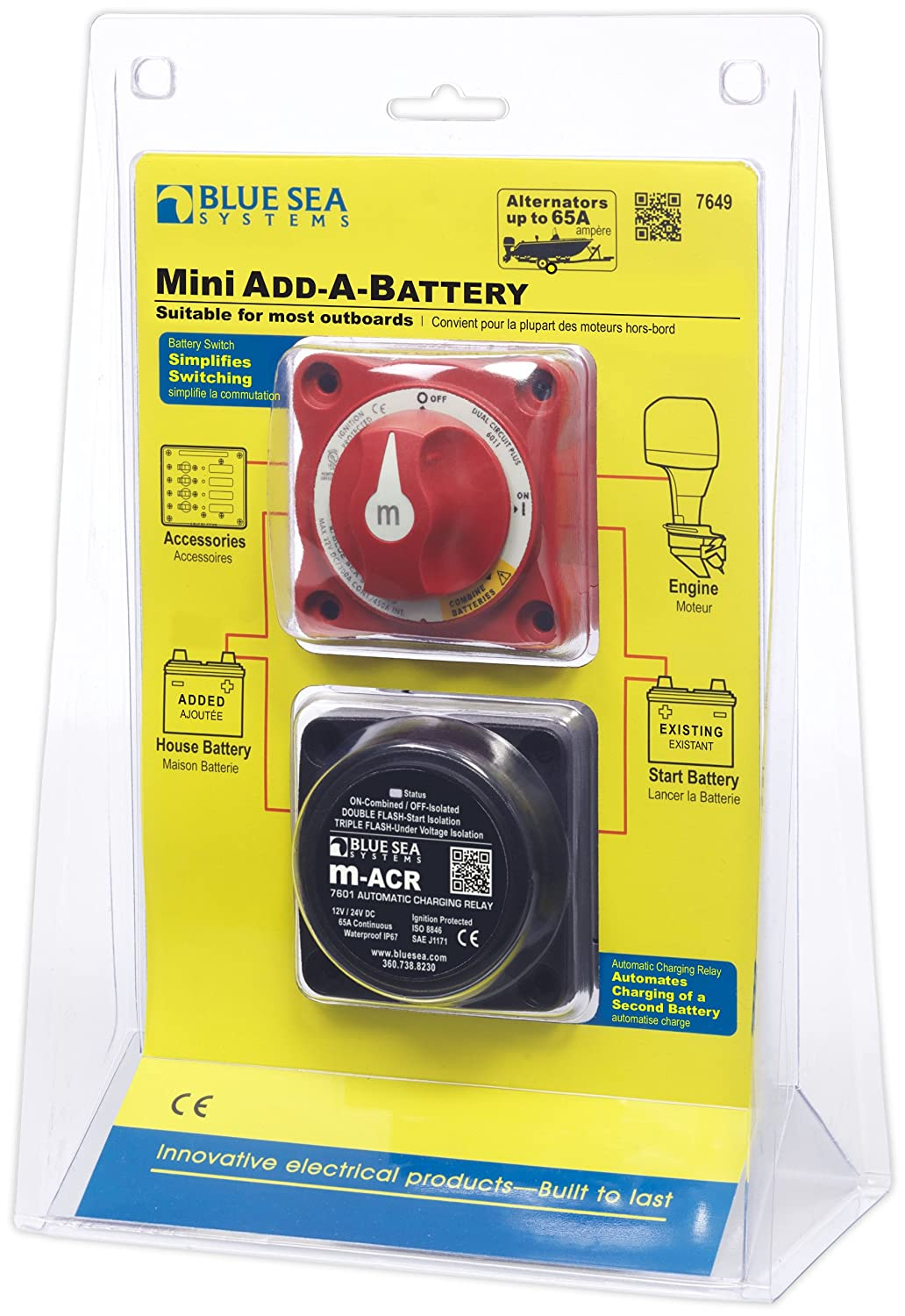 Blue Sea Systems 120A Add-A-Battery Kit 7650