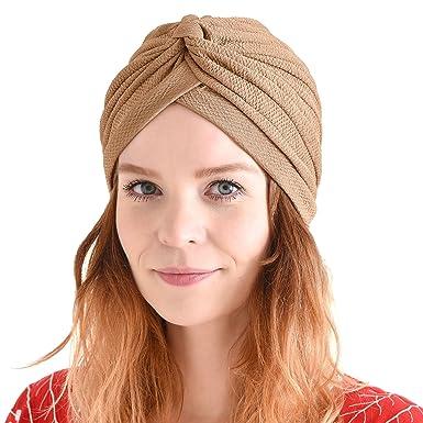 Bestbewertete Mode großer Rabattverkauf heiße Produkte CHARM Casualbox | Krepptuch Twist Turban Hut Gewebt Bandana ...