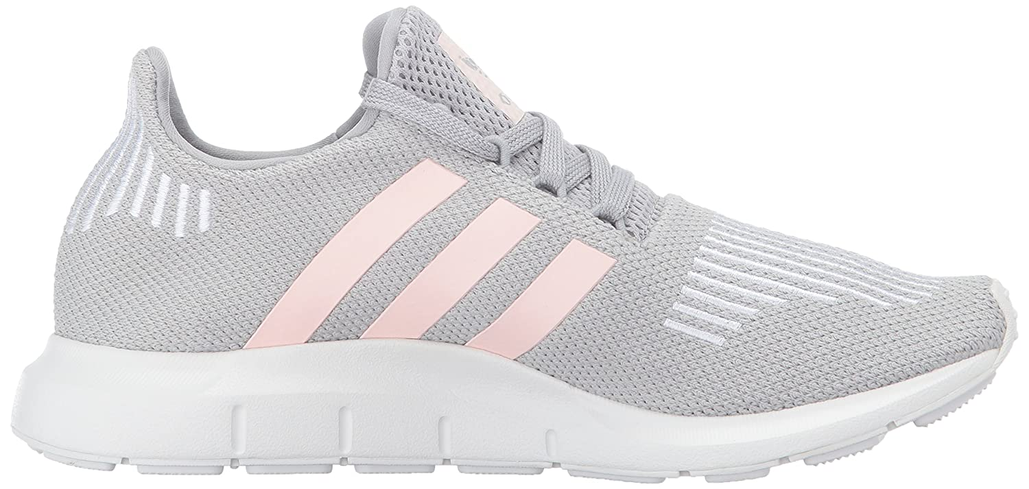 adidas Women's Swift Run W B01N6GW8VC 9.5 B(M) US|Grey Two/Ice Pink/White