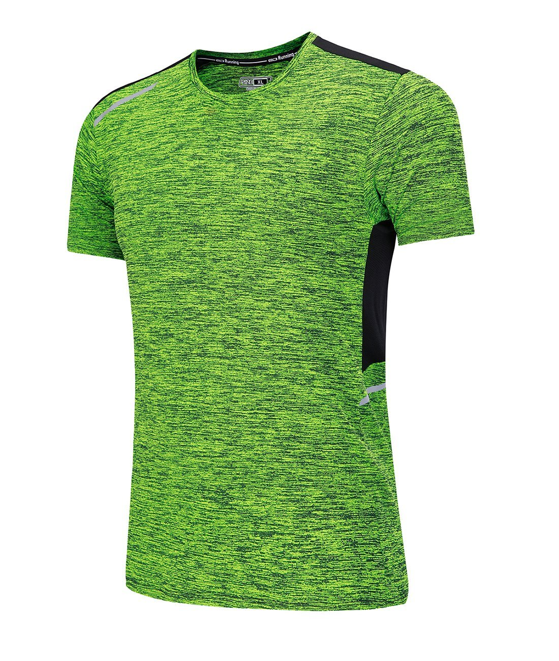 LYZ Mens Pullover Short Sleeve Quick Dry Workout Sport T-Shirts Running Tops Sweatshirts