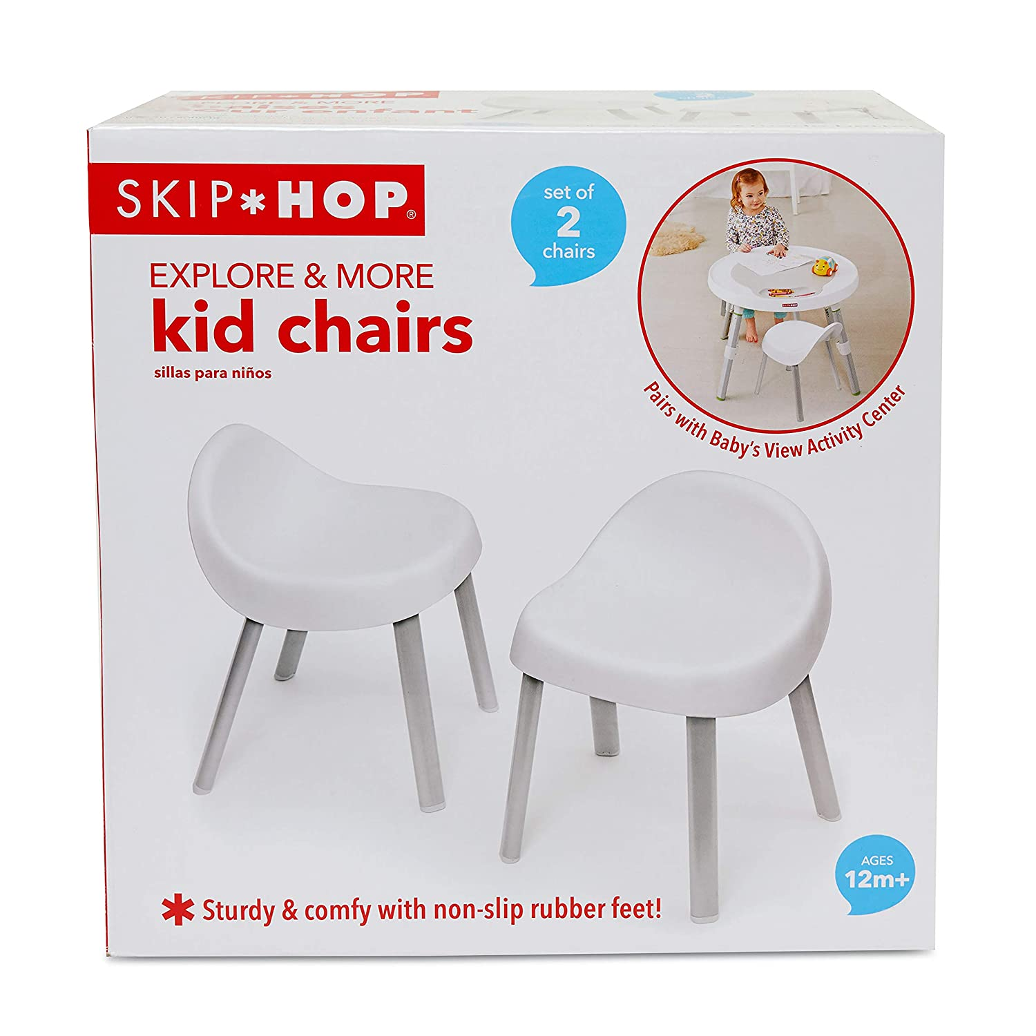 33d90e07b6f0 Amazon.com  Skip Hop Explore   More Kids Chairs