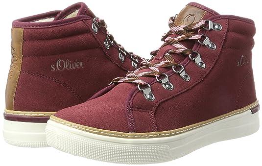 s.Oliver 26207, Zapatillas Altas para Mujer, Gris (Graphite), 41 EU