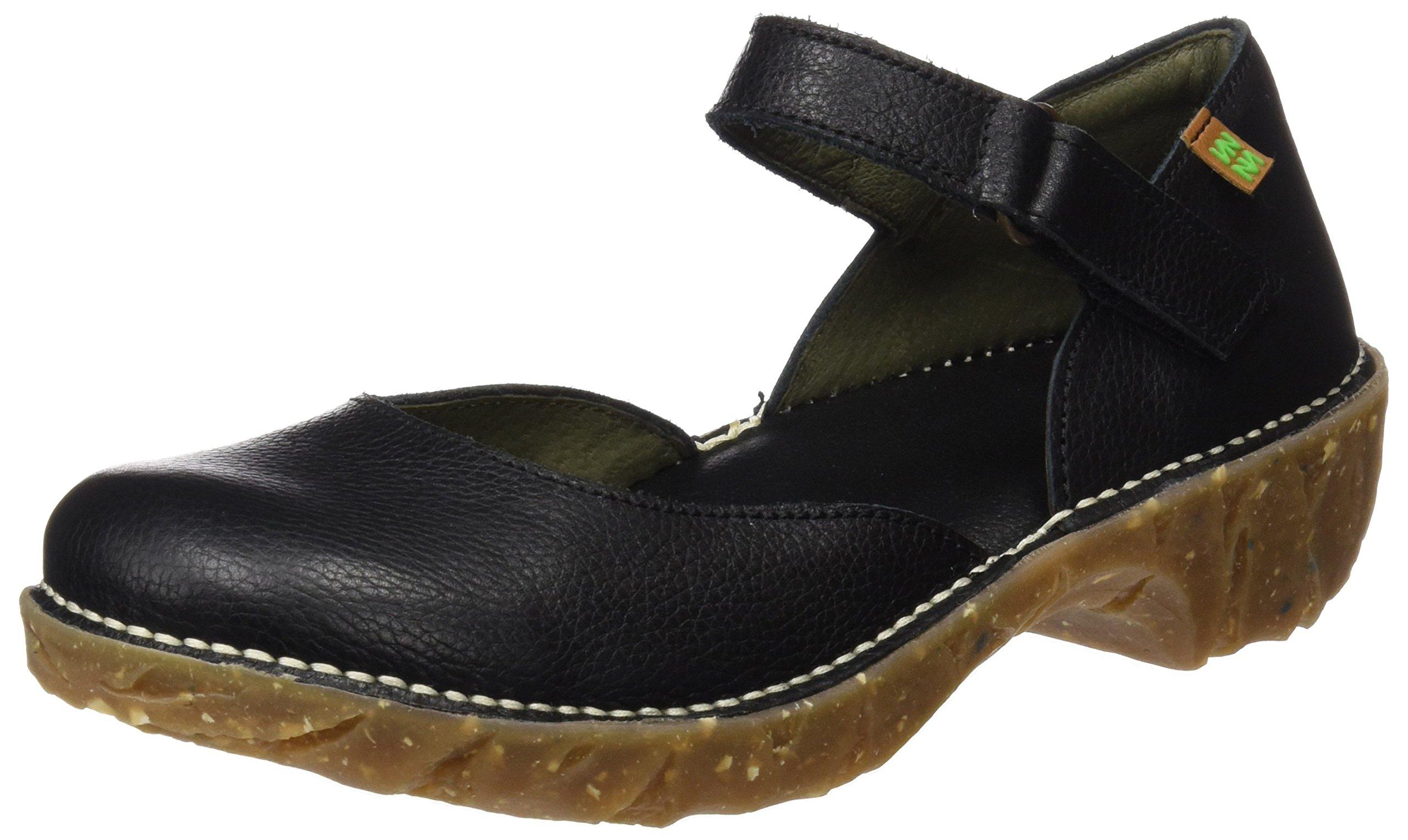 El Naturalista Women's Yggdrasil Ng50 Slipper, Black, 38 EU/7.5 M US