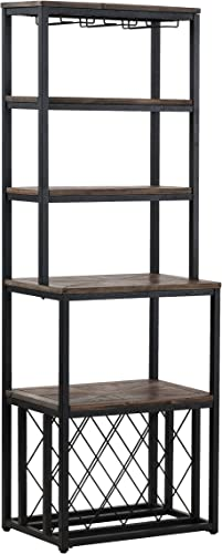 Furniture HotSpot Reclaimed Wood Bakers Rack