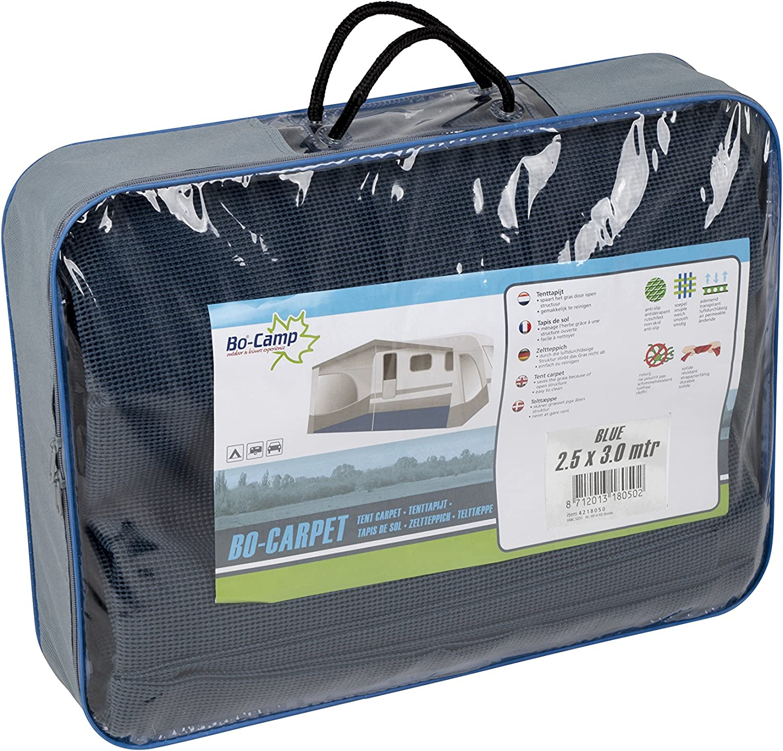 3 X 5 metres Bo-Camp Tent carpet pack blue