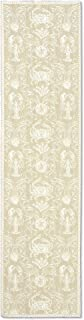 """product image for Heritage Lace Sand Crab Damask 14""""x54"""" Table Runner"""