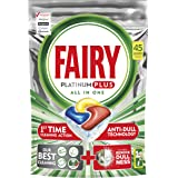 Fairy Platinum Plus Dishwasher Tablets Lemon 45 Tablets