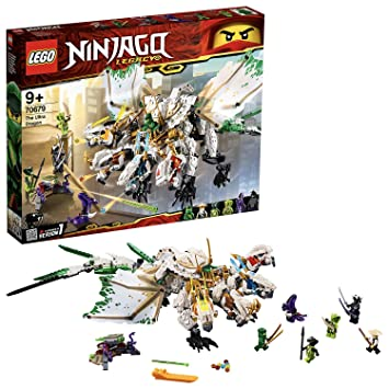 LEGO Ninjago - Ultradragón, increíble dragón de juguete con ...