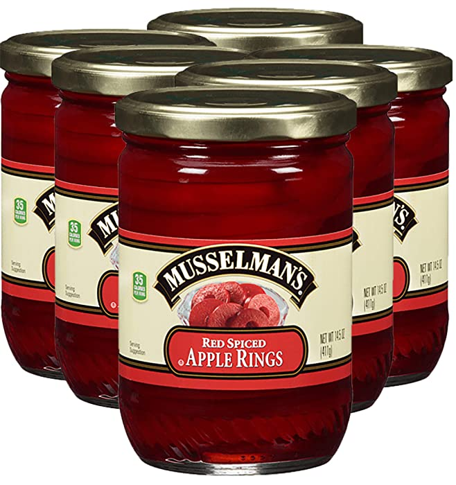 Musselman Apple Rings Spiced