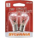 SYLVANIA 2357 Miniature Incandescent Long Life Bulb, (Contains 2 Bulbs)