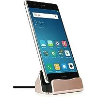 MyGadget USB C Docking Station - Base Estación de Carga para Android Smartphones - Galaxy S21 S20 S10 Note 20 10 Huawei…