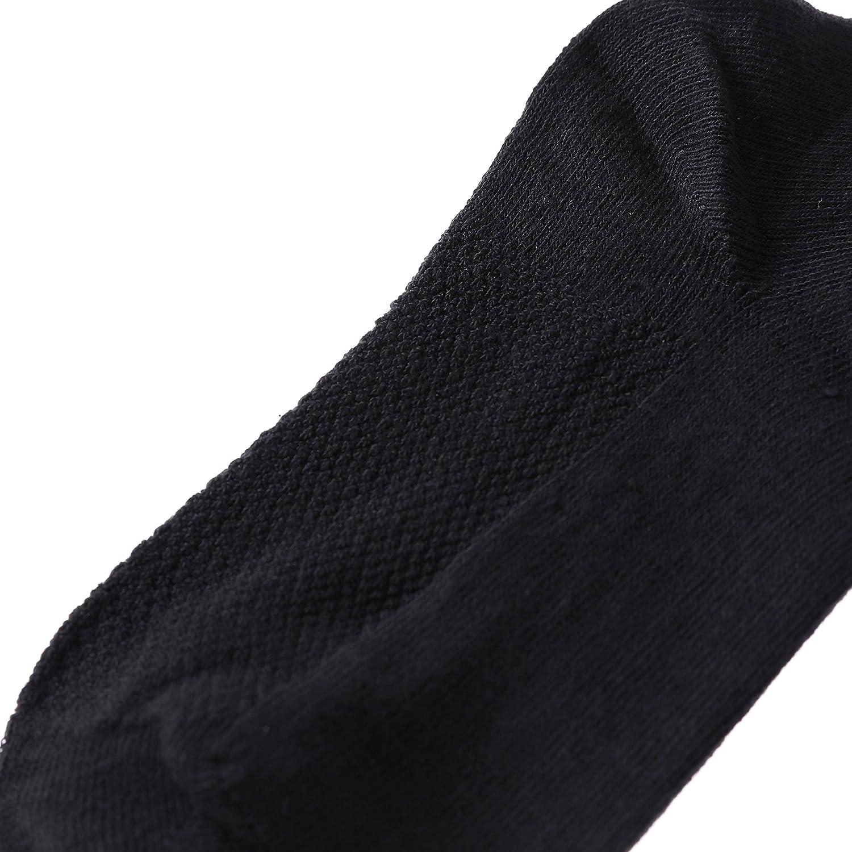 PUREMART Girls Boys School Uniform Classics Rib Athletic Kids Crew Socks 6 Pair Pack