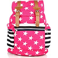 Mammon women's backpack handbag(ds-bp-pink,size-15x16x7 inches)