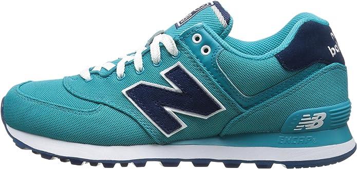 New Balance 574 Pique Polo Pack, Zapatillas para Mujer, Azul ...