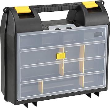 Stanley Boîte à outils en plastique 15 in Boîte à outils avec organiseur bac 1-94-481 environ 38.10 cm