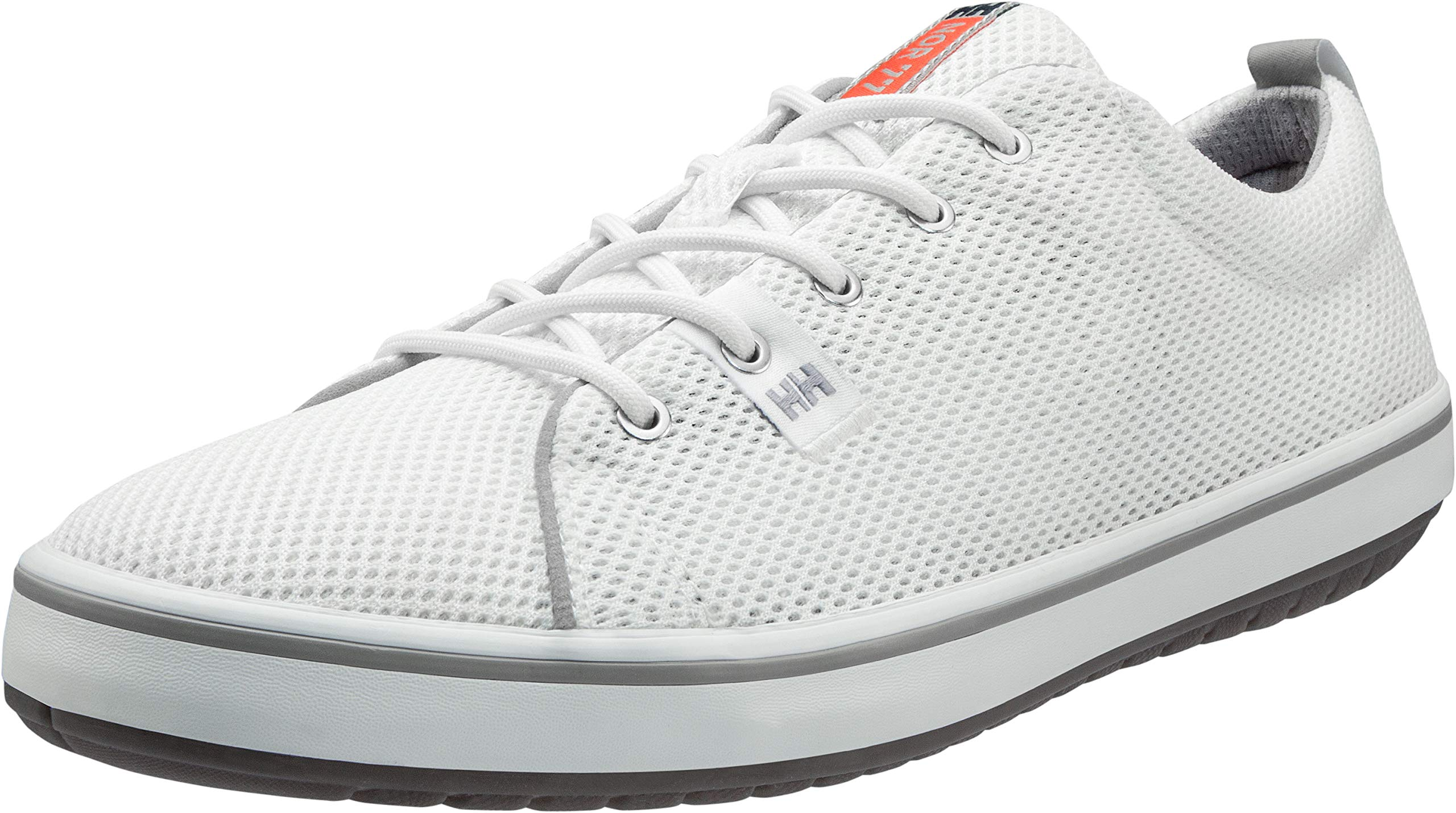 Helly Hansen Men's Scurry 2 Mesh Low-Cut Sneaker, Off White/Light Grey/Grenadine/Smoked Pearl Gum, 12 by Helly Hansen