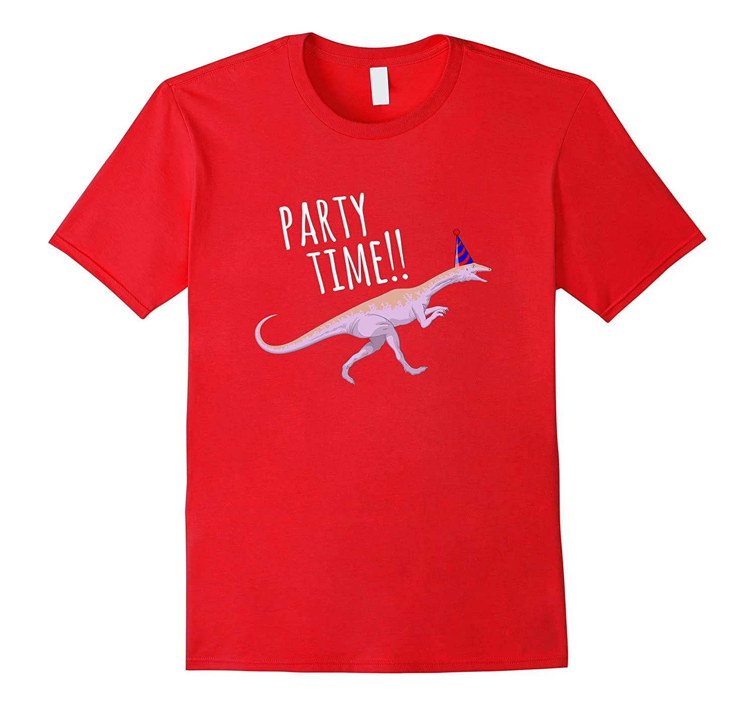 Dinosaur Party Time T Shirt Colors-Awarplus