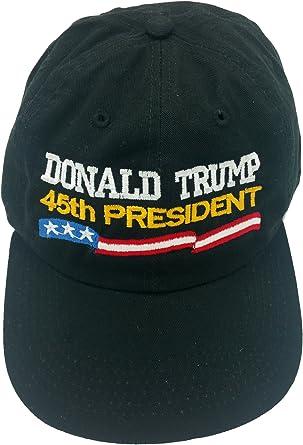 Donald Trump 45th President Black Hat