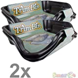 Trim Bin Harvest More Trimming Plastic Tray with Mesh Pollen Sieve Kief Sifter Screen - 2 Laptop Trimmer Tray Kit 1-Pack…