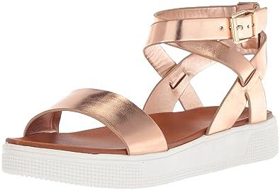 69349342e90d Amazon.com  MIA Women s Calla Flat Sandal  Shoes