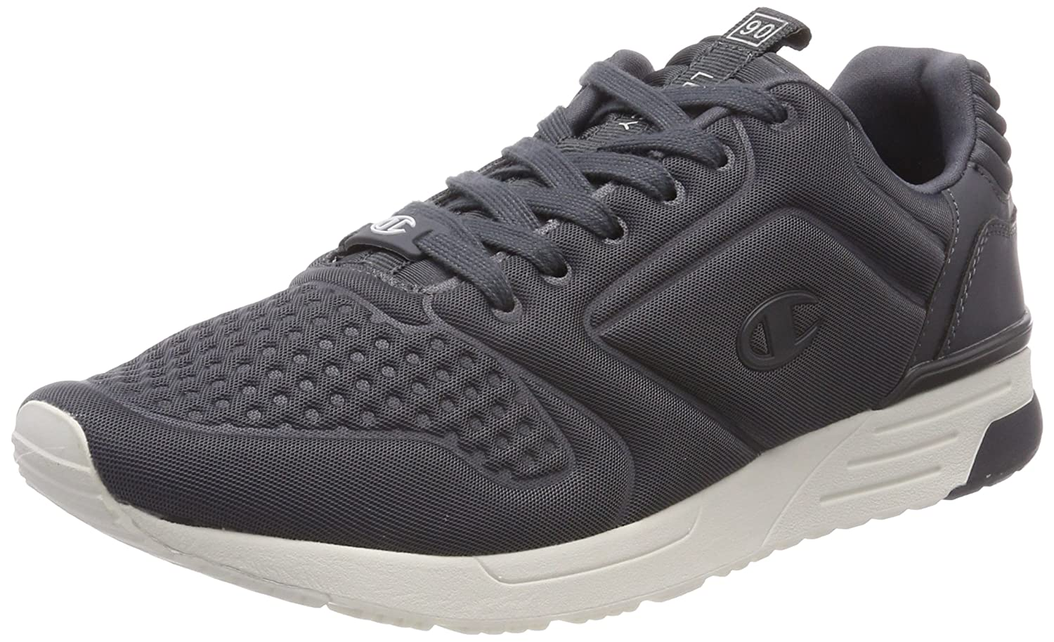 Champion Low Cut Shoe Legacy Nylon Embo, Zapatillas de Running para Hombre 44 EU|Gris (Phantom Es503)