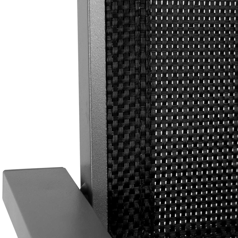 Gartenstuhl alu textil  Amazon.de: Gartenstuhl Stapelstuhl grau - hochwertige 4x4 ...