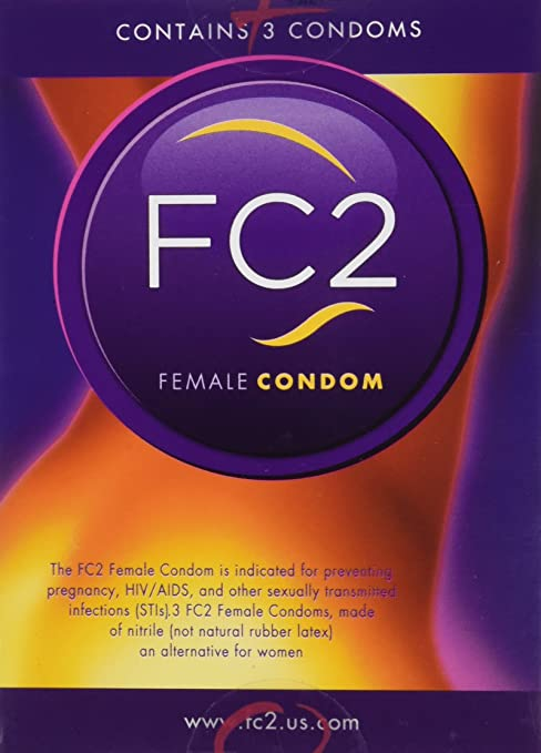 FC2 Female Condom Box