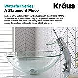 Kraus KGW-1700CH-CL Single Lever Vessel Glass