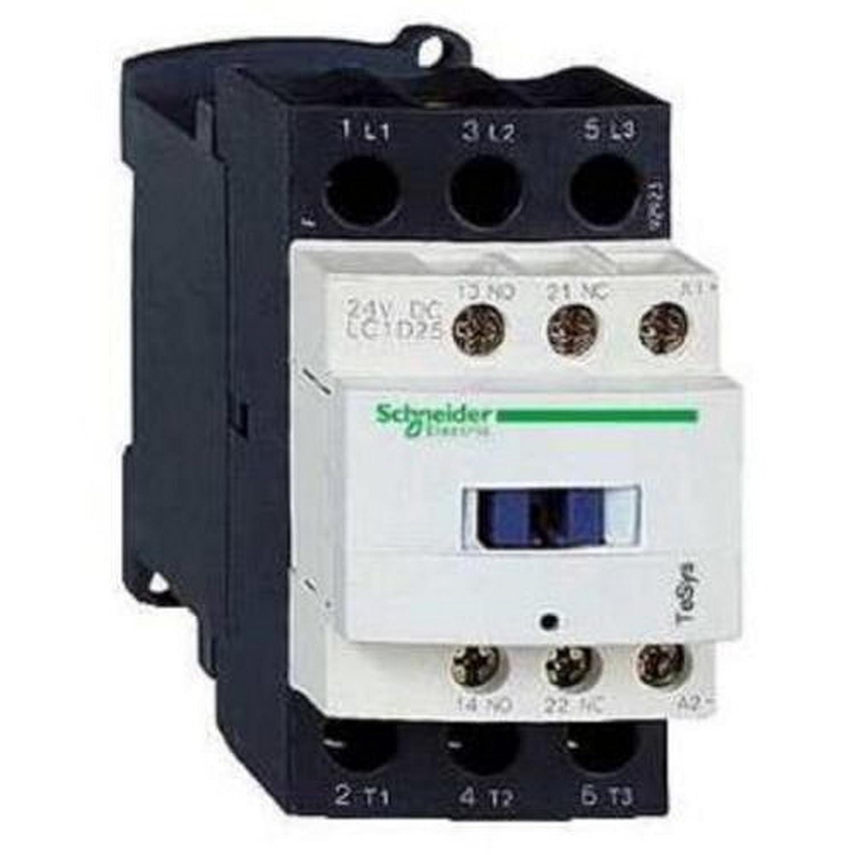 Schneider Electric LC1D18B7 TeSys D bobina 24 V CA 3P AC-3 440 V 18 A Contactor