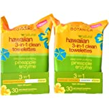 Alba Botanica Hawaiian 3-in-1 Clean Towelettes 30 Count