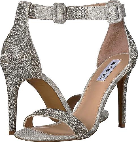 f46e62d1d95ba Amazon.com | Steve Madden Womens Masquerade | Heeled Sandals