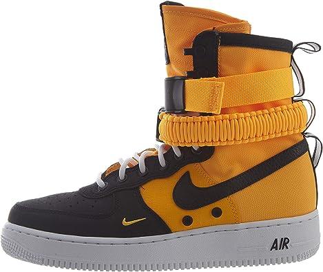 Nike SF AF1 Botas Altas para Hombre, Laser Orange/Black ...