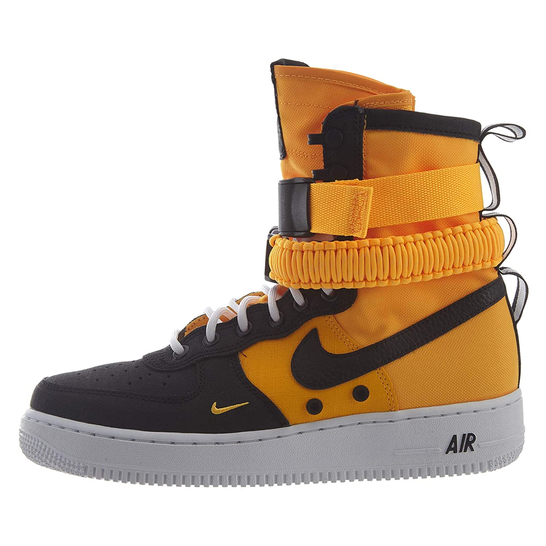 Laser orange, black, white 10 D(M) US Nike Men's SF AF1 HK, Midnight Navy-Midnight Navy