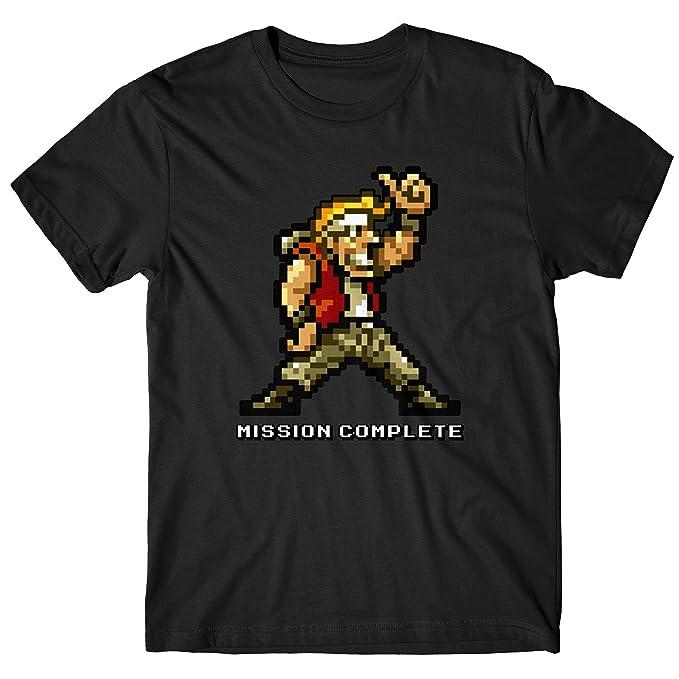 LaMAGLIERIA Camiseta Hombre Metal Slug - Camiseta Cult Vintage Video Games 100% Algodòn 3nDNsM3