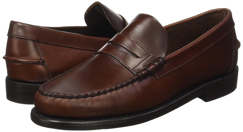 Sebago Classic, Mocasines para Hombre, (Brown Oiled Waxy), 45 EU: Amazon.es: Zapatos y complementos