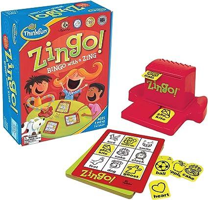 Think Fun Zingo - Bingo (en inglés): Amazon.es: Juguetes y juegos