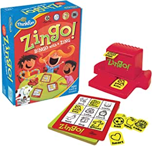 ThinkFun 7700 Zingo! Game,Junior Games