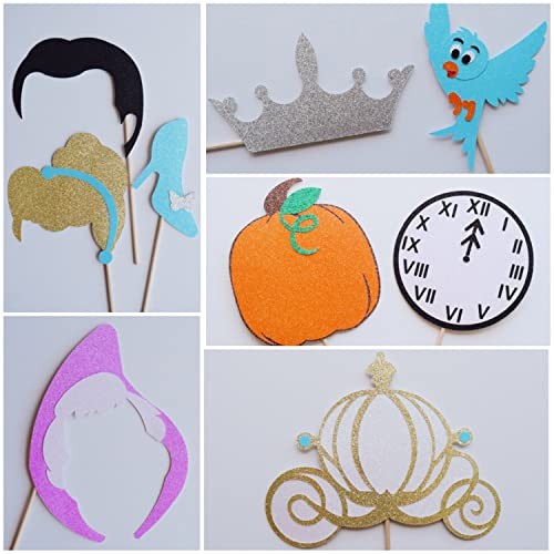 Amazoncom Disney Princess Cinderella Photo Booth Props Disney