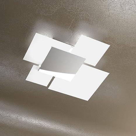 Offerte Plafoniere Moderne.Plafoniera Moderna A Soffitto Skugga 70cm In Cristallo
