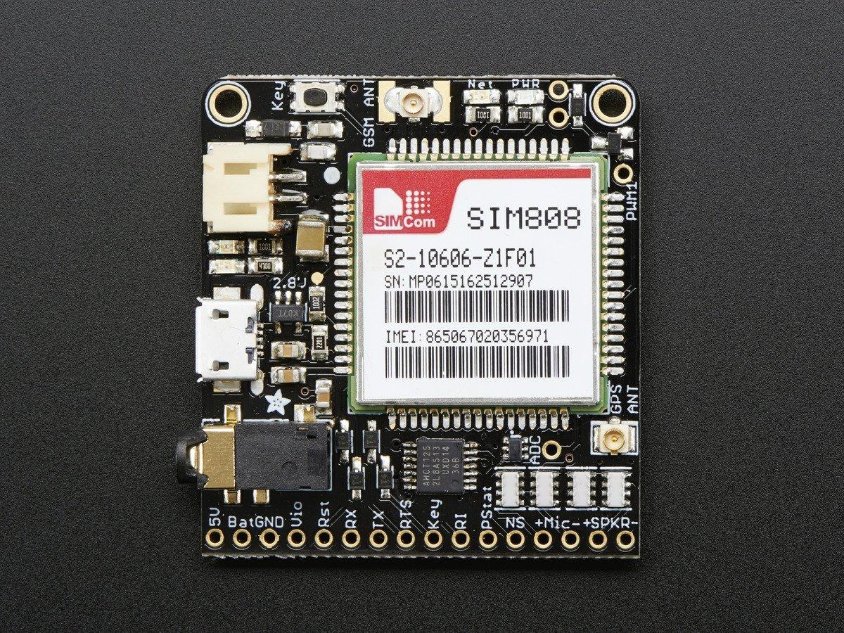 Adafruit 2542 FONA 808 - Mini Cellular GSM GPS Breakout ADA2