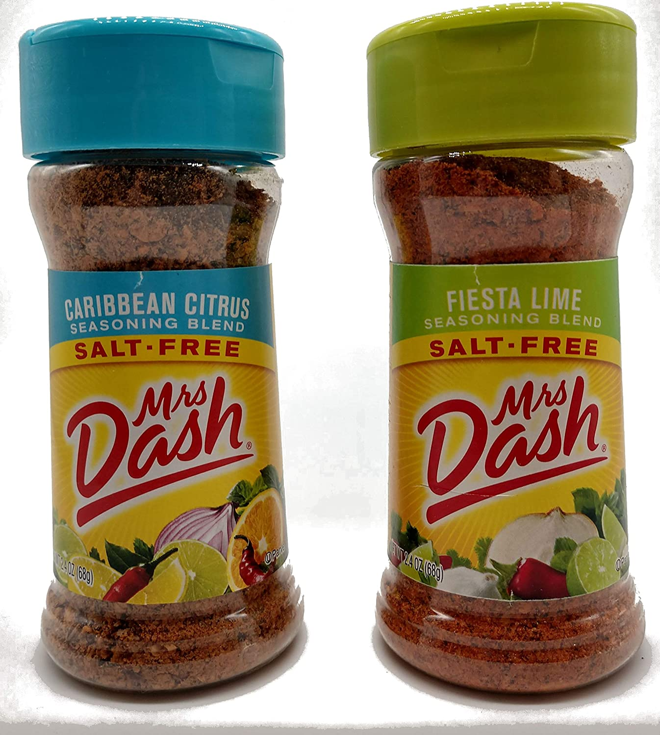 Mrs. Dash Caribbean Citrus and Fiesta Lime Bundle (2.4 oz, 1 of each flavor)