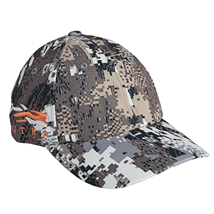 SITKA Gear Cap W Side Logo Optifade Elevated II One Size Fits All d87d9851b3c
