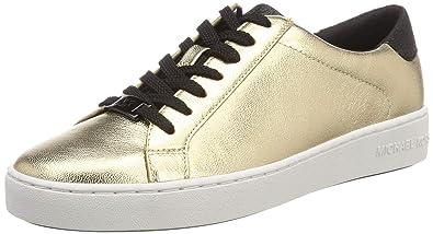 49947b6217b42 Michael Kors Damen Mkors Irving Lace Up Sneaker  Amazon.de  Schuhe ...