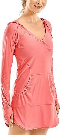 CRZ YOGA Women's UPF 50 Long Sleeve Cover-Ups Sport Shirts Workout Tops Lightweight