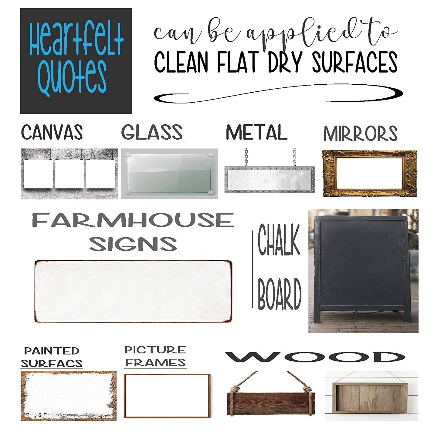 Vinyl Graphic Decal Sticker Can be Used for Vehicle Window Cooler Mirror Safe || High Quality Outdoor Rated Vinyl || 3 Sizes Available Canvas Metal or Framed Sign Sized for Farmhouse Farm Life
