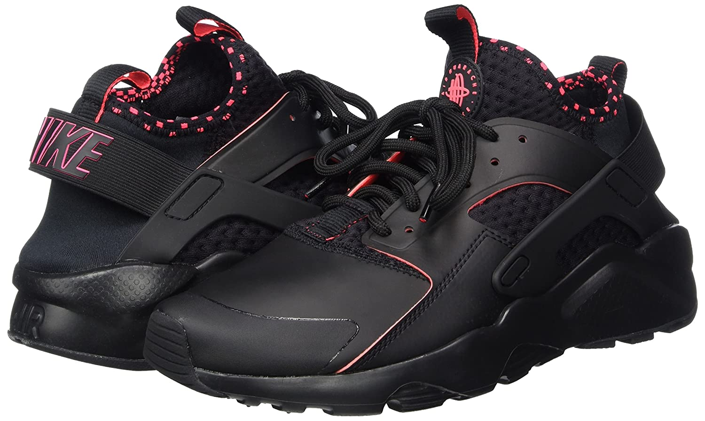 NIKE Men's Air Huarache Solar Running Shoes B003JYJLHC 13|Black Solar Huarache Red 005 c5b622